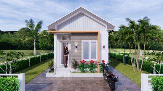 One Floor House Plans 4x9 Meter 13x30 Feet 1