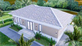 Modern Farmhouse Designs 12x8 Meters 40x26 Feet 3 Beds 5