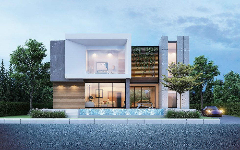 House Design 3d 25x21 with 3 Bedrooms