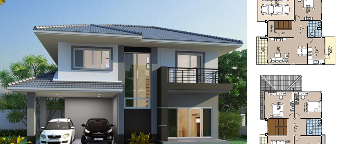 House Plans 12×10.5 with 3 bedrooms