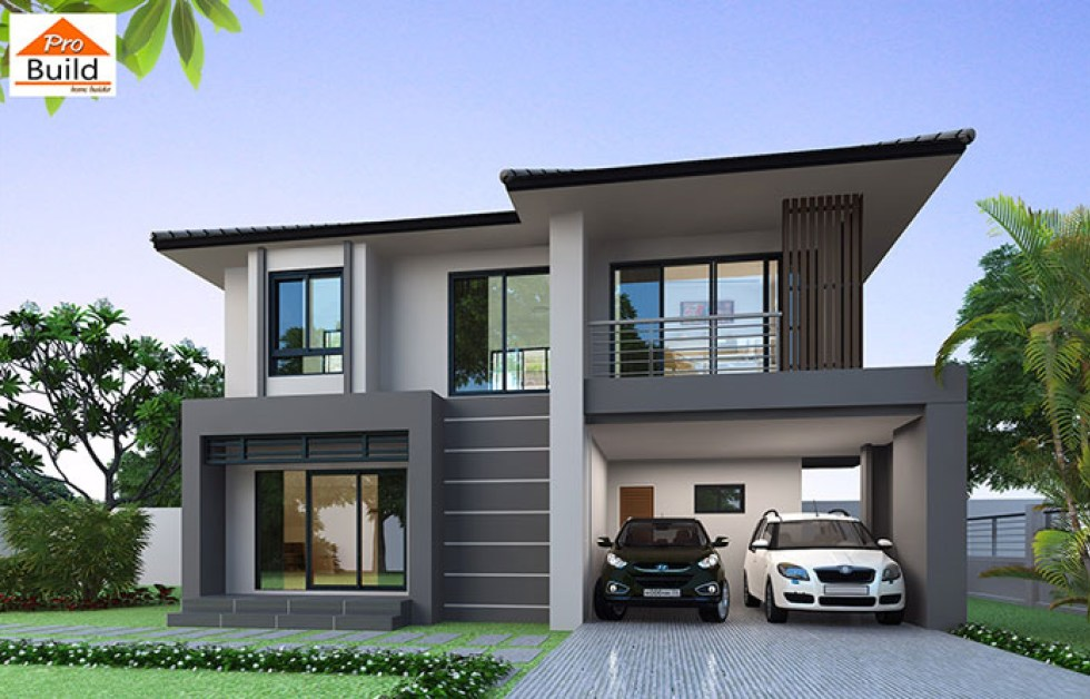 House Plans 9.5x7 with 3 Bedrooms