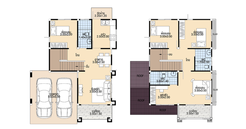 House-Plans-9x11-with-4-Bedrooms-Layout-floor-plans