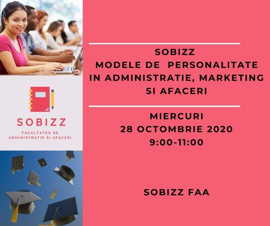 Modele de  Personalitate in Administratie, Marketing si Afaceri