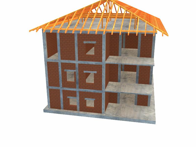 proiect structura casa