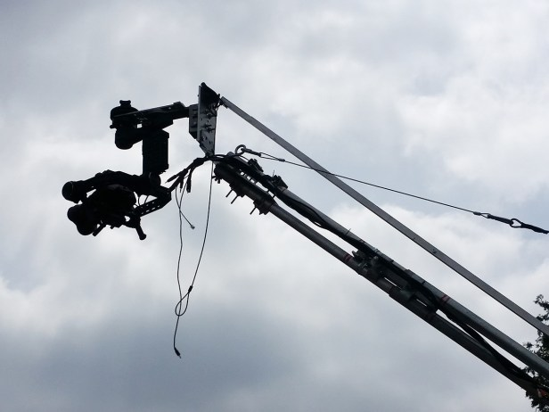 DJI RONIN ON JIB SYSTEM LIFTED