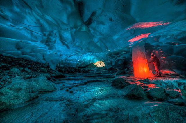 ледяные пещеры фото