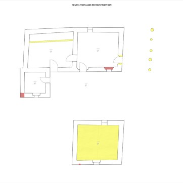 Plans of Demolition and Reconstruction