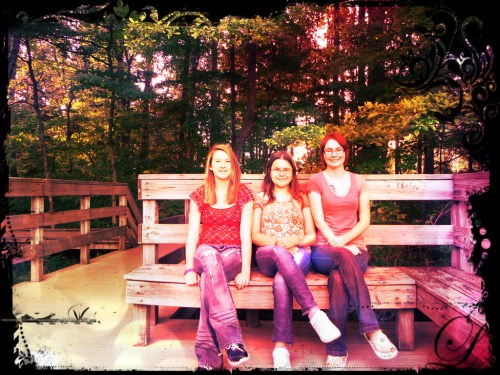 Caroline, Meadow and Me