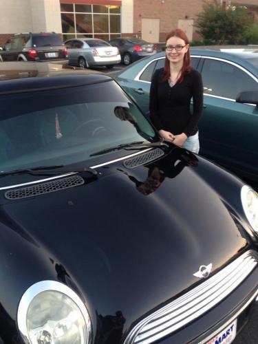 Me & my new car!