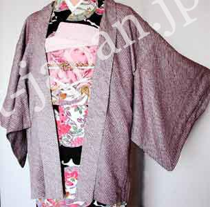 Haori with kanoko pattern