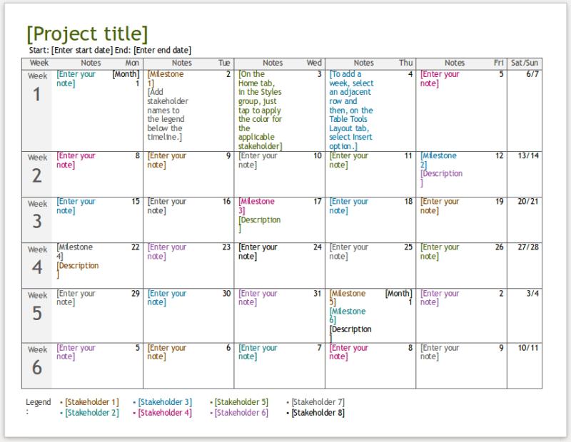 22/05/2019· 8+ free project timeline templates excel. Timeline Templates How To Use Different Project Timeline Templates