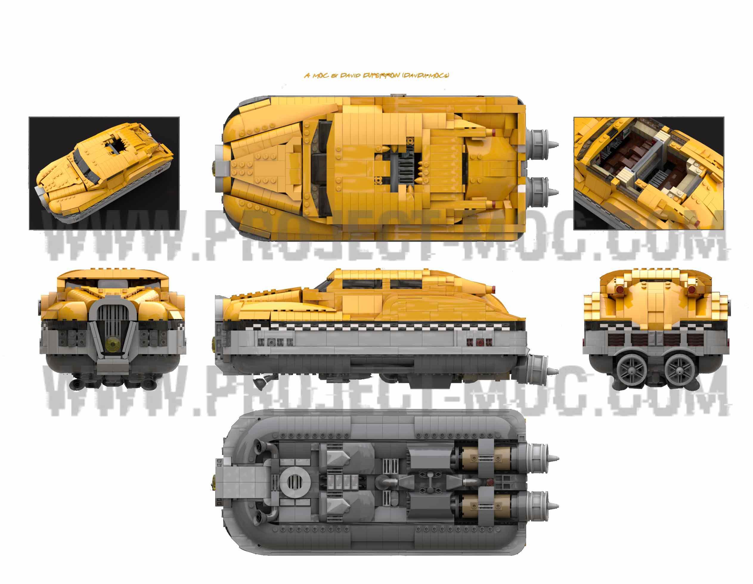 MOC - 5th Element Taxi #PM-000011