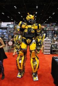 C2E2 Bumblebee Cosplay 1