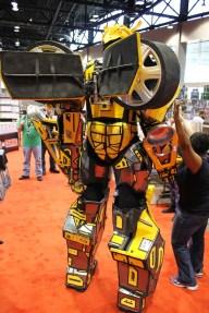 C2E2 Bumblebee Cosplay 3