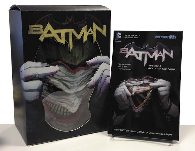 Death of the Family Book and Joker Mask Set