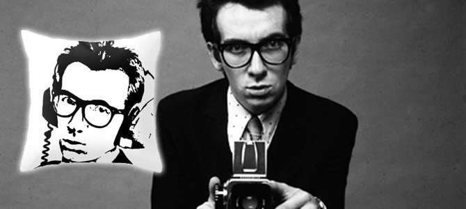 The Ten Obscure Elvis Costello Pillow