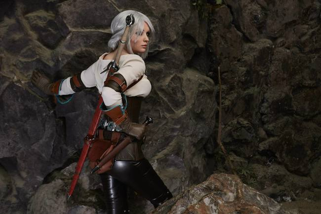 Cosplay Collection Ciri Galina Zhukovskaia