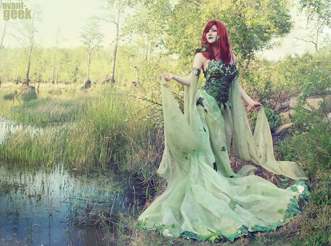 Poison Ivy Cosplay Collection Avant Geek