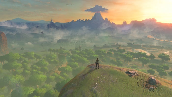 Breath of the Wild features a massive Hyrule