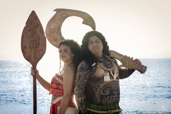 This Moana & Maui Cosplay Bring the Characters to Life   Project-Nerd