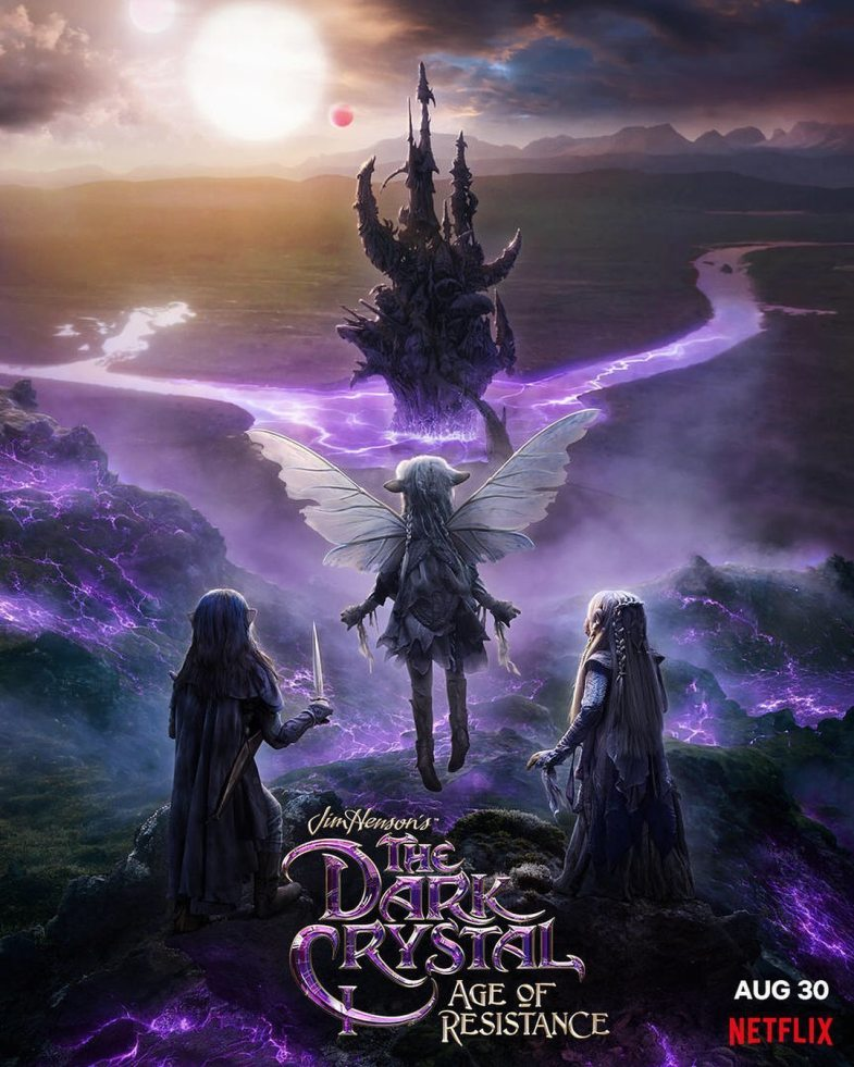 netflix u0026 39 s  u0026 39 the dark crystal u0026 39  prequel series gets a trailer