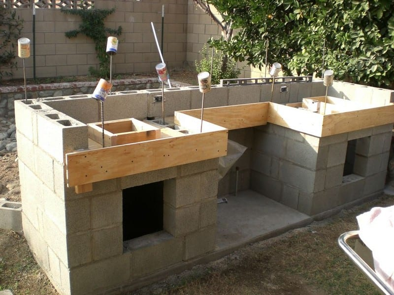 How To Build an Outdoor Kitchen - Page 2 - Your Projects@OBN on Diy Bbq Patio id=13236