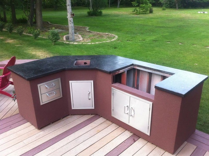 DIY Outdoor Kitchen - Your Projects@OBN on Patio Kitchen Diy  id=41884