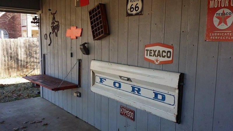 How To Make A Tailgate Wall Bench Your Projects Obn