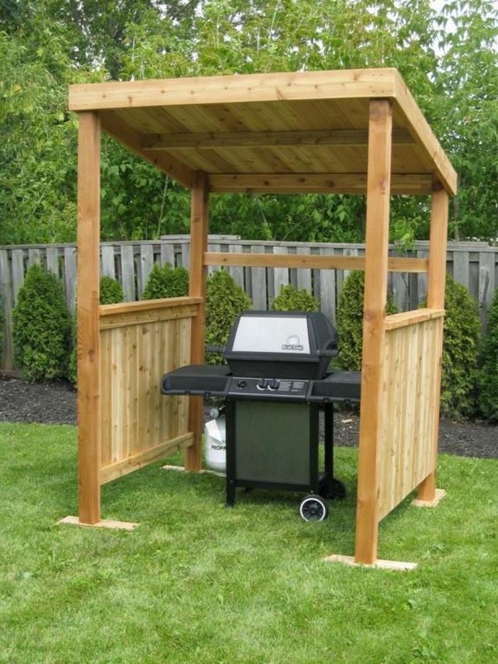Build your own backyard grill gazebo   DIY, Grill Gazebo on Diy Bbq Patio id=12403