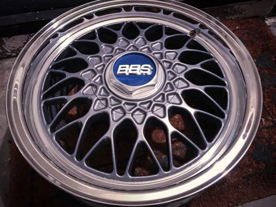 BBS RZ, polished lip, painted center
