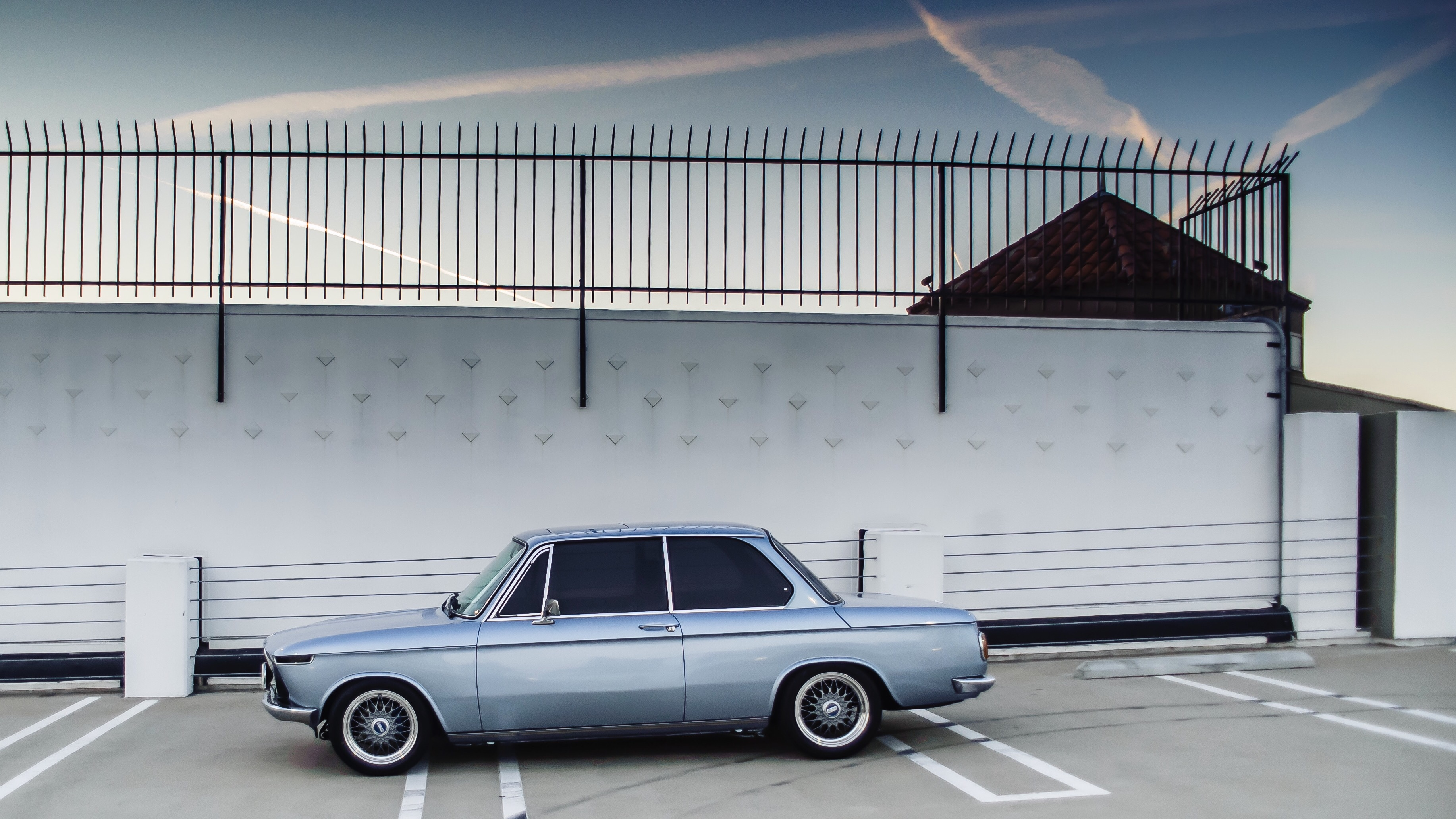 """Fjord Blue 1976 BMW 2002 with 15"""" BBS"""