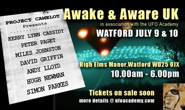 AWAKE & AWARE 2016 (WATFORD) (FREE)