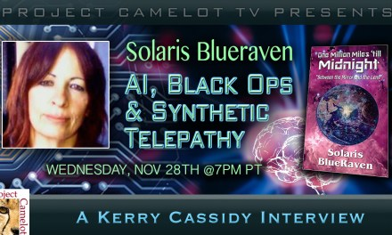 SOLARIS BLUERAVEN:  AI, BLACK OPS & SYNTHETIC TELEPATHY