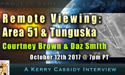 Remote Viewing Area 51 & Tunguska with Courtney Brown & Daz Smith