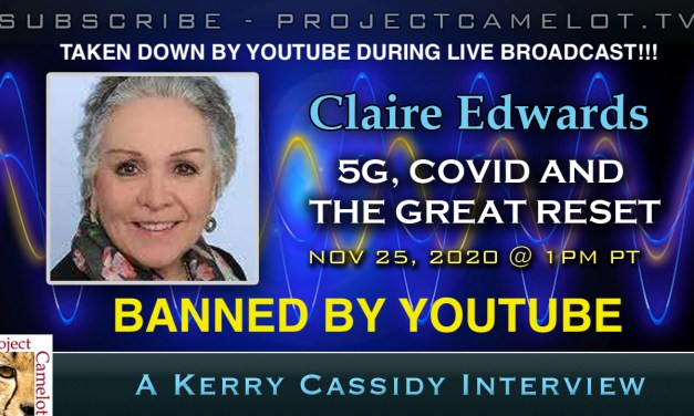 CLAIRE EDWARDS:  5G, COVID AND THE GREAT RESET – NOW AVAILABLE HERE