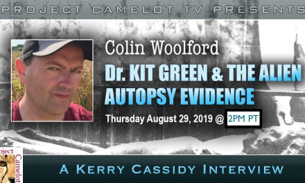 COLIN WOOLFORD:  UPDATE ON ALIEN AUTOPSY CONTROVERSY