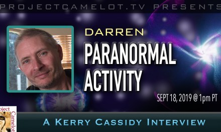 DARREN :  PARANORMAL ACTIVITY & GHOST BUSTING