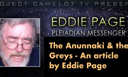 THE ANUNNAKI & THE GREYS BY EDDIE PAGE