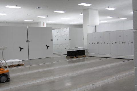 Fragments storage lockers