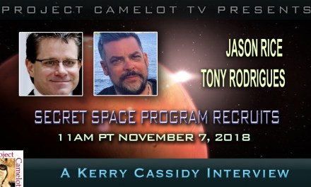 Interview with two Mars recruits:  Jason Rice and Tony Rodrigues : Secret Space Program