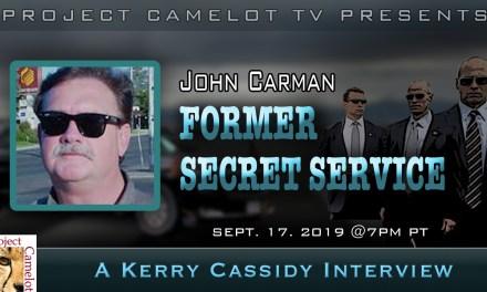 JOHN CARMAN :  FORMER SECRET SERVICE AGENT