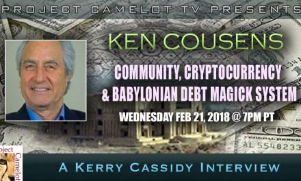 KEN COUSENS:  CRYPTOS & BABYLONIAN DEBT MAGICK SYSTEM