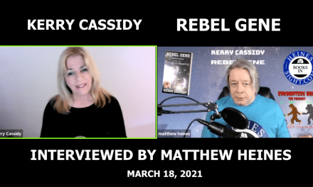 KERRY RE REBEL GENE – INTERVIEWED BY MATTHEW HEINES 3.28.21