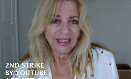 FACEBOOK BROADCAST: 2ND YOUTUBE STRIKE – UPDATED MAY 16TH