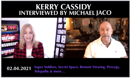 KERRY INTERVIEWED BY MICHAEL JACO: SUPER SOLDIERS, RV, MILABS, MONTAUK AND MORE