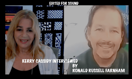"KERRY INTERVIEWED BY RONALD RUSSELL FARNHAM RE HER BOOK ""REBEL GENE"""