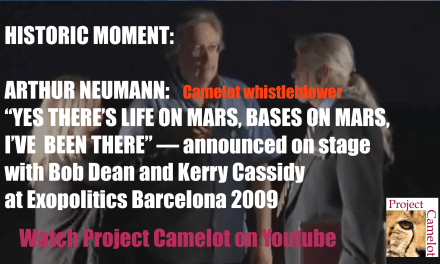 LIFE ON MARS :  ARTHUR NEUMANN ANNOUNCEMENT – HISTORIC MOMENT