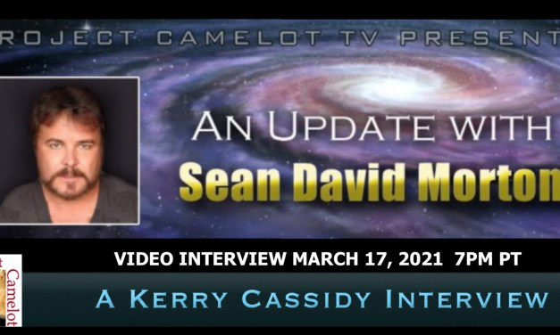 SEAN DAVID MORTON:  THE FUTURE AND WHAT'S HAPPENING NOW:  VIDEO INTERVIEW