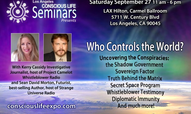 Who Rules the World Seminar Saturday – Get Advance Tickets