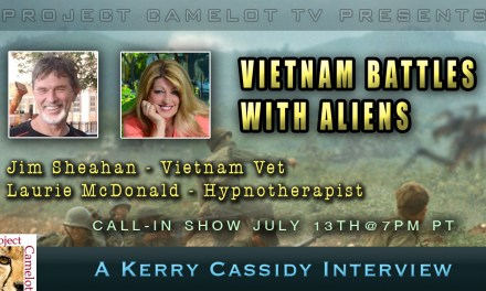 VIETNAM BATTLES WITH ALIENS – JULY 13TH@7PM PT – CALL IN SHOW
